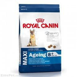 غذای خشک سگ نژاد بزرگ ای جینگ 8+ رویال کنین