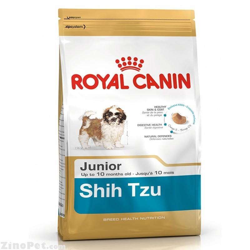 غذای خشک سگ شیتزو توله - جونیور رویال کنین