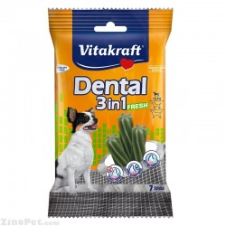 دنتال سگ خوشبو کننده و ضد پلاک زیر 5 کیلوگرم ویتاکرافت