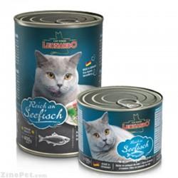 کنسرو گربه با طعم ماهی لئو ناردو