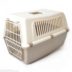 باکس حمل پلاستیکی سگ و گربه یو اس پت