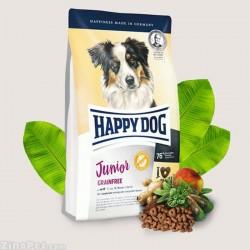 غذای خشک سگ بدون غلات جوان - جونیور هپی داگ
