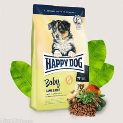 غذای خشک توله سگ محتوی بره و برنج هپی داگ