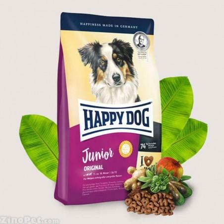 غذای خشک سگ جوان - جونیور هپی داگ