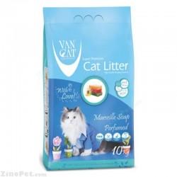 خاک بستر گربه با رایحه صابون فرانسوی وان کت