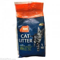 خاک گربه با اسانس صابون مارسی ای کی 5 کیلویی