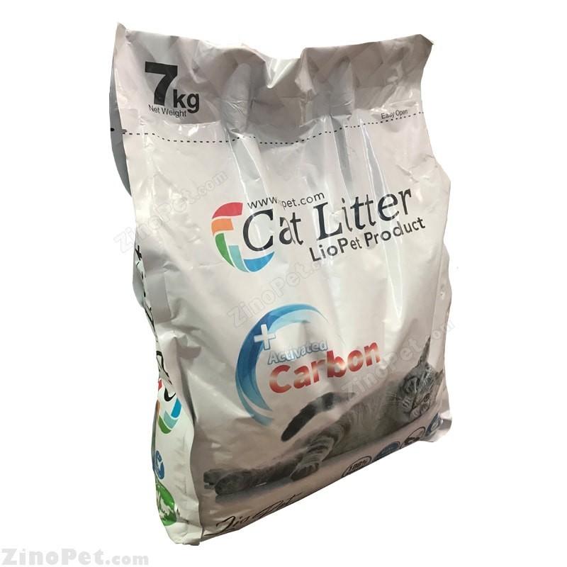 خاک بستر گربه با راحیه کربن لیوپت