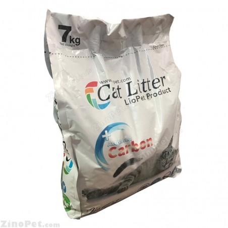 خاک بستر گربه لیوپت با رایحه کربن