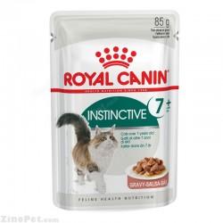 پوچ مخصوص گربه بالای ۷ سال در گوشت رویال کنین