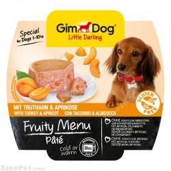 غذای تر سگ جیم داگ تقویتی بوقلمون و زردآلو