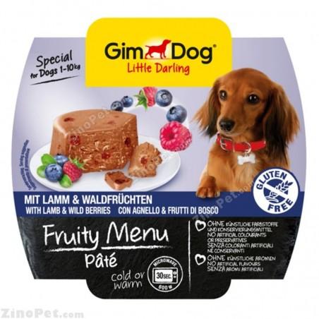 غذای مرطوب سگ جیم داگ تقویتی بره و توت وحشی