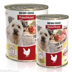 کنسر و سگ با طعم گوشت مرغ بوی داگ