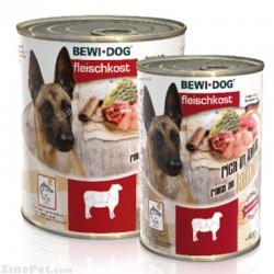 کنسر و سگ با طعم گوشت بره بوی داگ