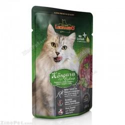 پوچ گربه با طعم گوشت کانگورو لئوناردو