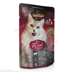 پوچ گربه با طعم گوشت قرمز لئوناردو