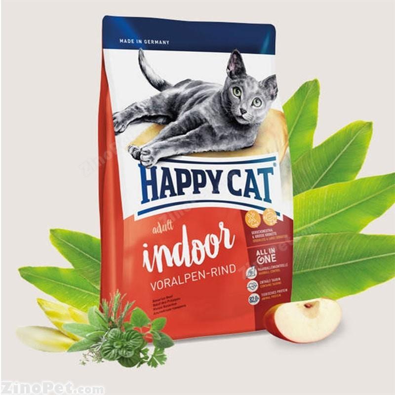 غذای خشک گربه با طعم گوشت گوساله بزرگسال - ادالت هپی کت