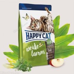 غذای خشک گربه با طعم گوشت بره بزرگسال هپی کت