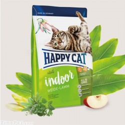 غذای خشک گربه با طعم بره بزرگسال هپی کت