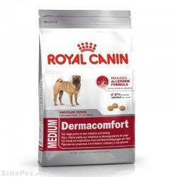 غذای خشک سگ نژاد متوسط درماکامفورت رویال کنین