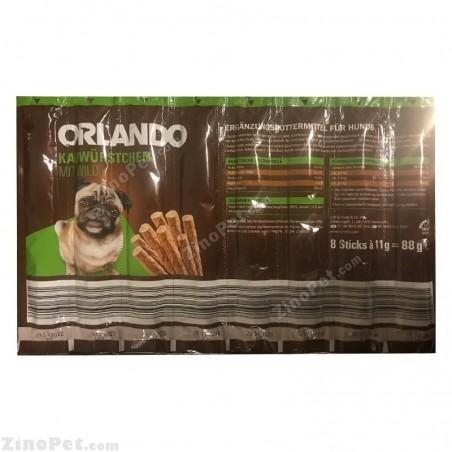 اسنک مدادی سگ اورلاندو با طعم گوشت شکار