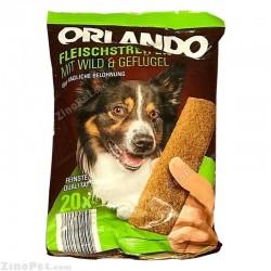 تشویقی سگ اورلاندو با طعم گوشت وحشی و مرغ
