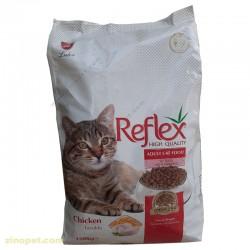 غذای خشک گربه رفلکس adult بزرگسال