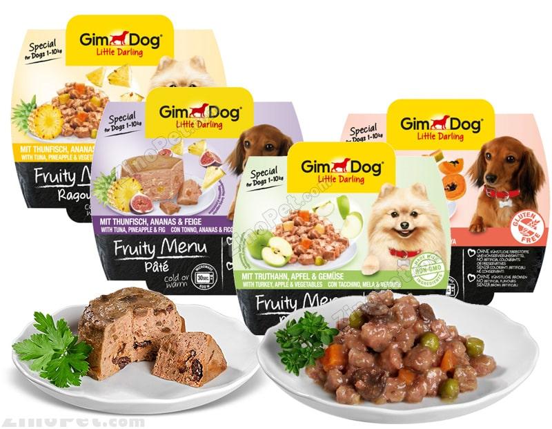 غذای تر سگ جیم داگ